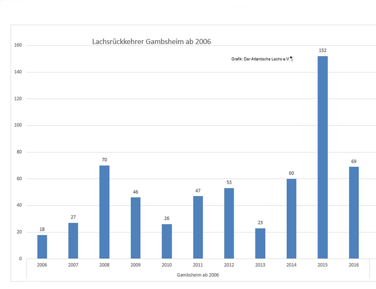 Grafik Rückkehrer Gambsheim seit 2006