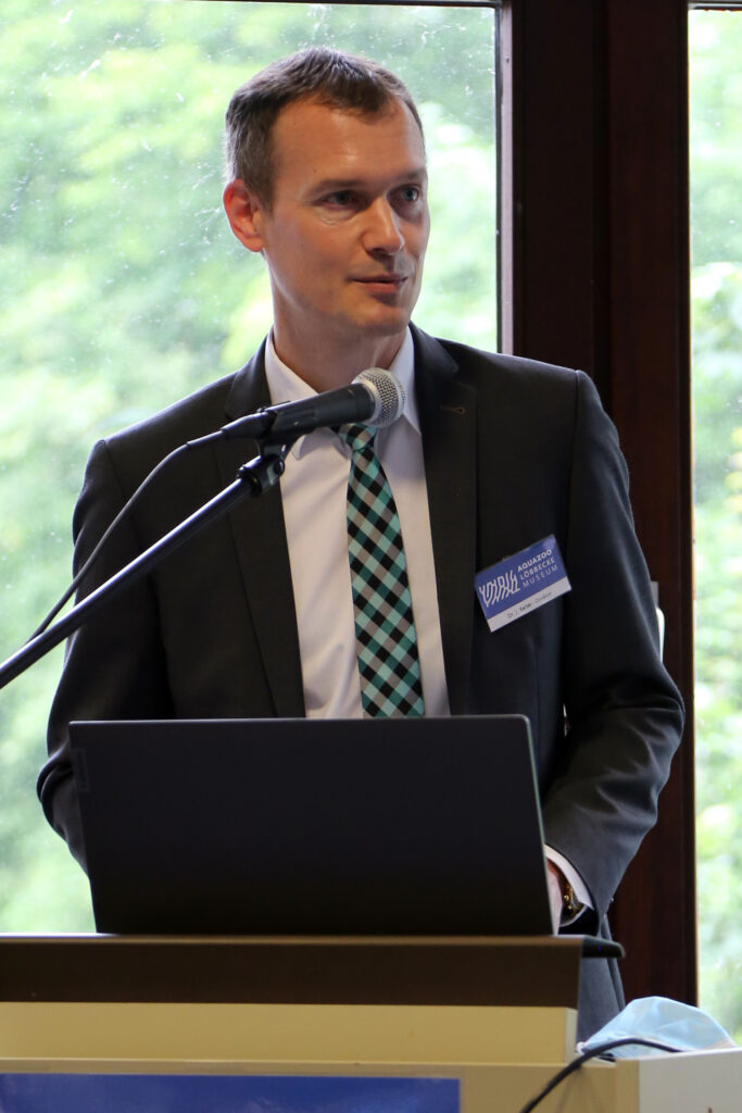Dr. Reiter, Direktor des Aquazoo Löbbecke, Düsseldorf